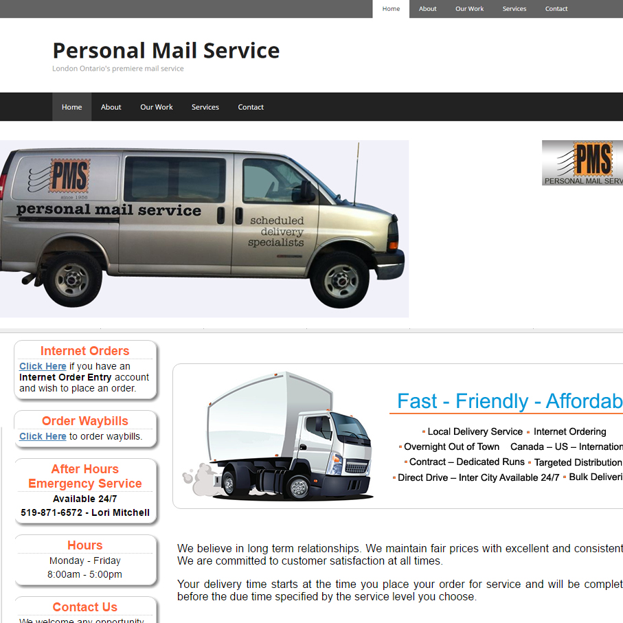 personal mail service